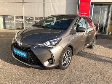 "Toyota Yaris 1,5 VVT-i Hybrid Lounge ""Navi,Leder,Parkassist"" bei Toyota Wögerbauer in"