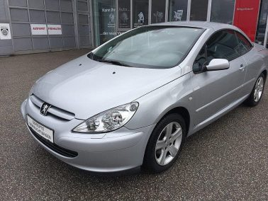 Peugeot 307 CC 1,6 16V bei Toyota Wögerbauer in