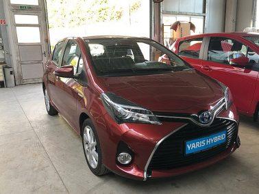 Toyota Yaris 1,5 VVT-i Hybrid Lounge mit VIP Paket bei Toyota Wögerbauer in