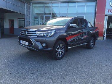 Toyota Hilux 2,4 D4D DKB 4WD Lounge Invincible Aut bei Toyota Wögerbauer in